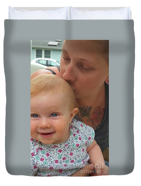 Baby Kisses Duvet Cover