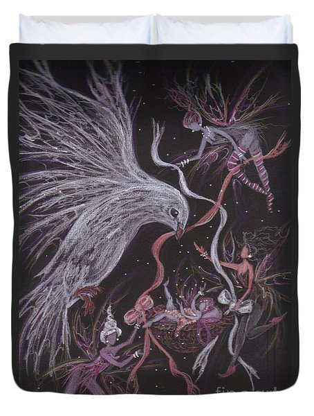 Baby Outing Duvet Cover by Dawn Fairies