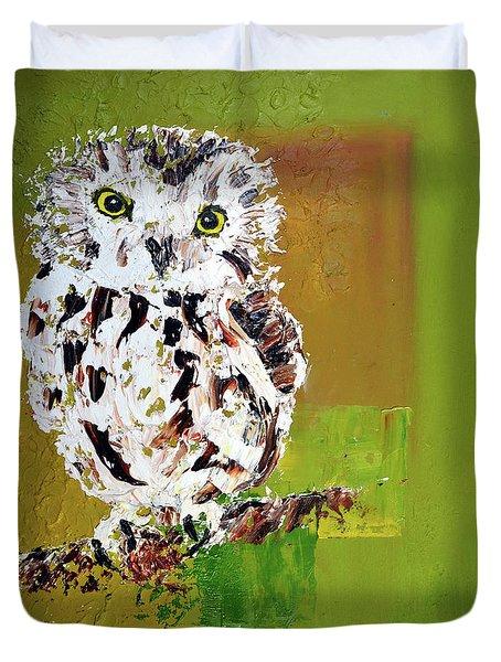 Baby Owl Duvet Cover