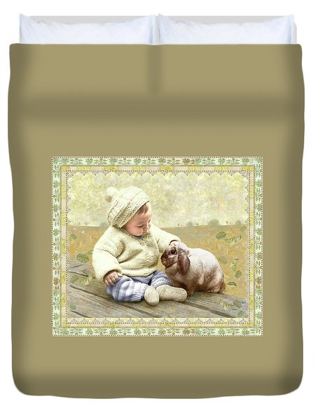 Baby Pats Bunny Duvet Cover