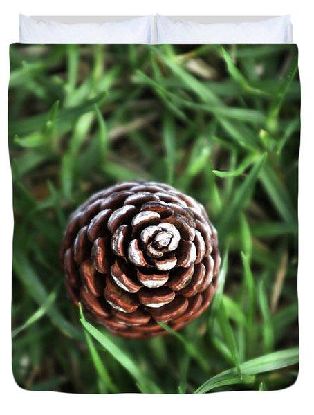 Baby Pine Cone Duvet Cover