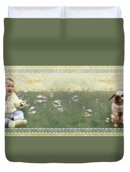 Baby Pops Bubbles Duvet Cover