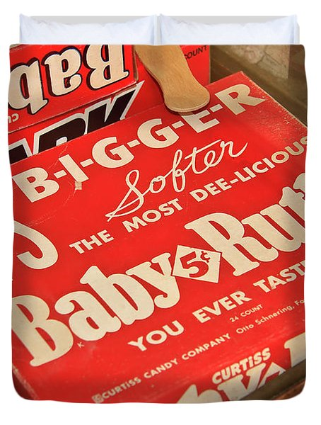 Baby Ruth Duvet Cover