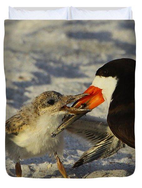 Baby Skimmer Feeding Duvet Cover