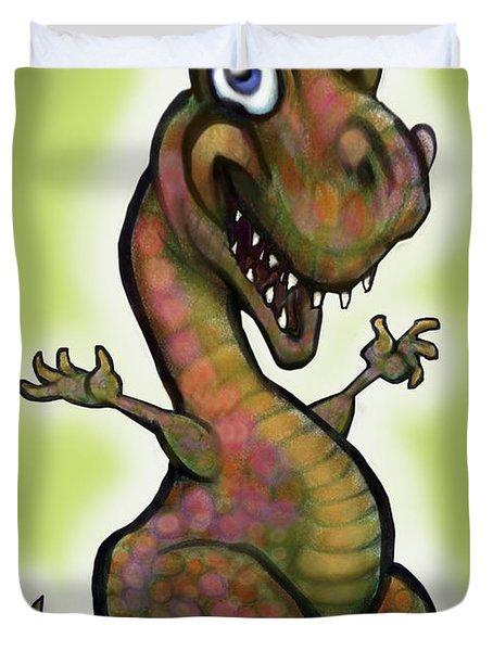 Babysaurus Rex Duvet Cover