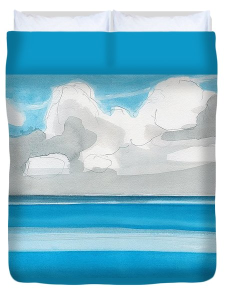 Bacalar, Mexico Duvet Cover by Dick Sauer