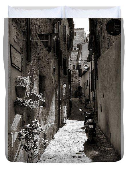 Back Alley 1 Duvet Cover