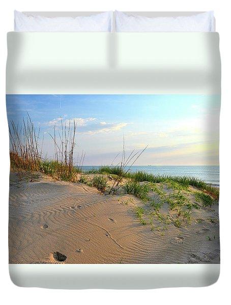 Back Bay Dunes Duvet Cover
