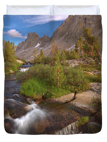 Back Country Creek Duvet Cover