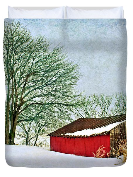 Back In The Day Duvet Cover by Nikolyn McDonald