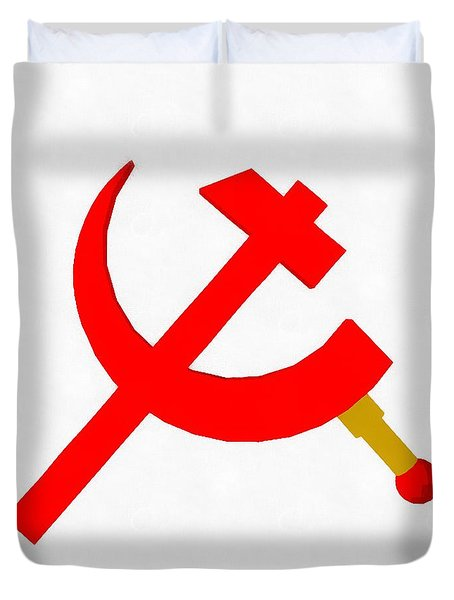 Back In The Ussr By Pierre Blanchard Duvet Cover