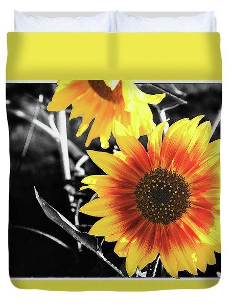 Back-lit Brilliance Duvet Cover