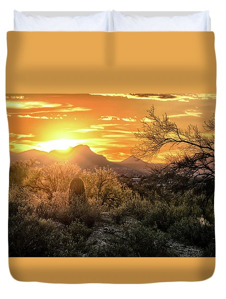 Back Lit Duvet Cover