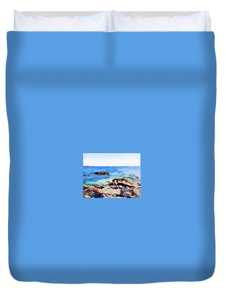 Back Shore, Gloucester, Ma Duvet Cover