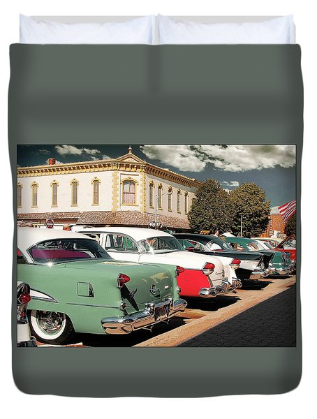 Back To The Classics Duvet Cover