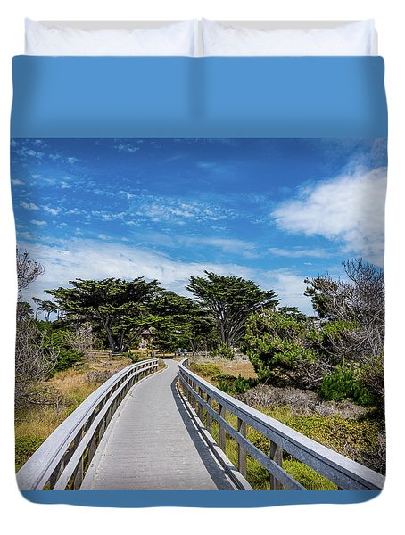 Back To The Grounds Duvet Cover