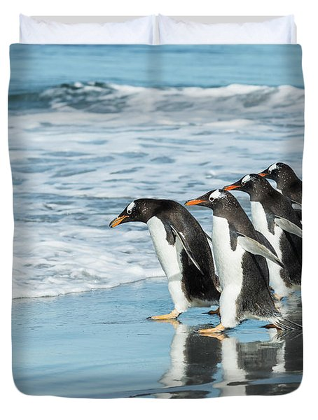 Back To The Sea. Duvet Cover