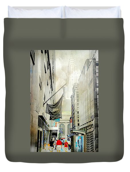 Duvet Cover featuring the photograph Back To You by Diana Angstadt