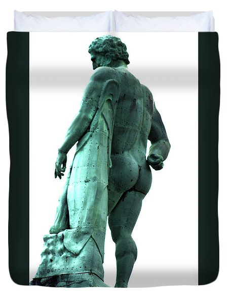 Back View From Great Hercules Duvet Cover