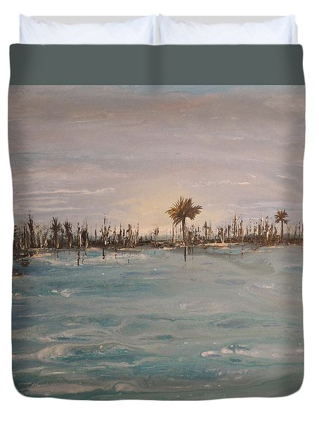 Backbay No. 403 Duvet Cover
