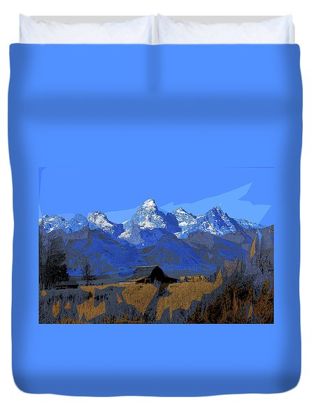 Backdrop Duvet Cover