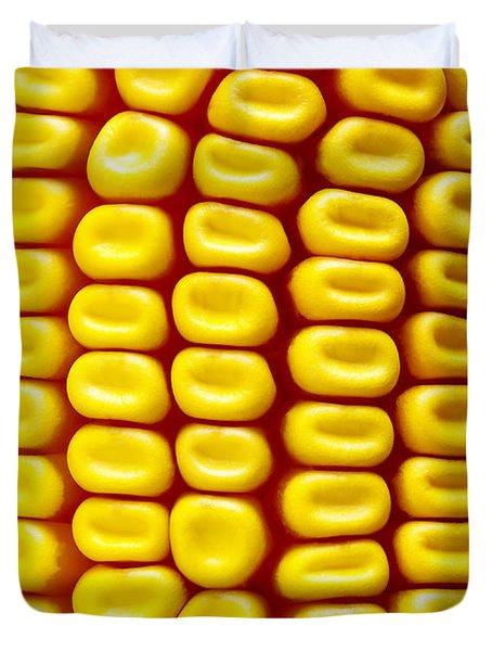 Background Corn Duvet Cover
