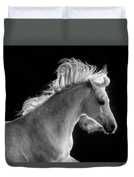 Backlit Arabian Duvet Cover