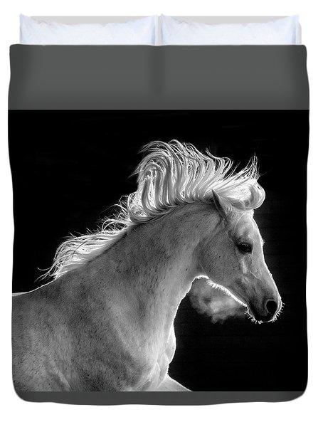 Backlit Arabian Duvet Cover