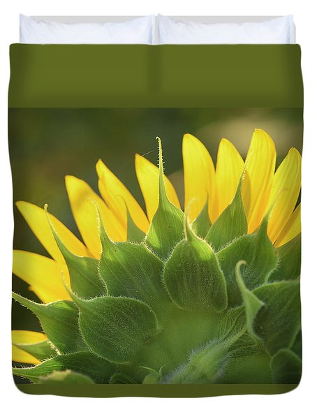 Backlit Beauty Duvet Cover
