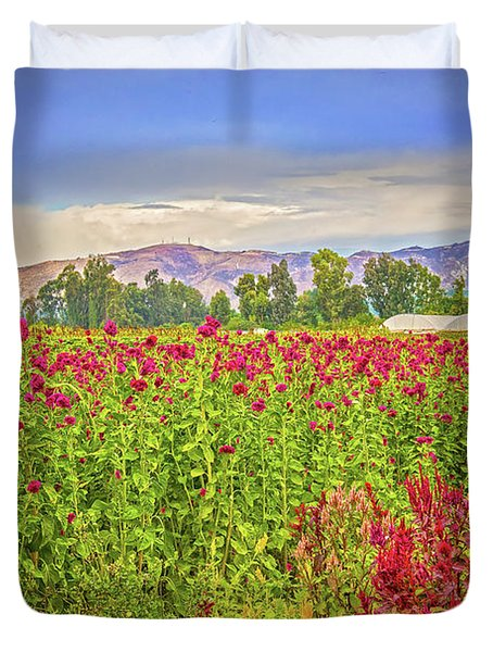 Backroad Beauty In Southern California Duvet Cover