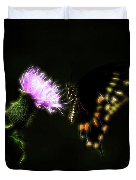 Backroad Butterfly Duvet Cover