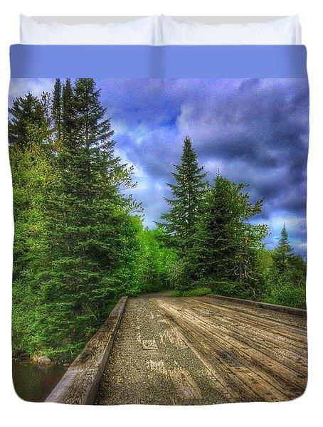 Backroad Wandering Duvet Cover