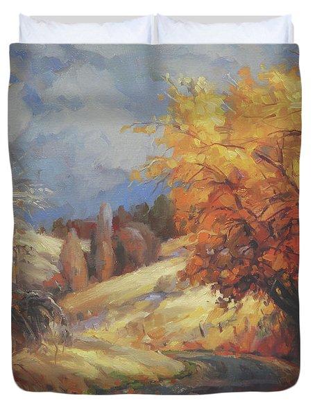 Backroads Duvet Cover