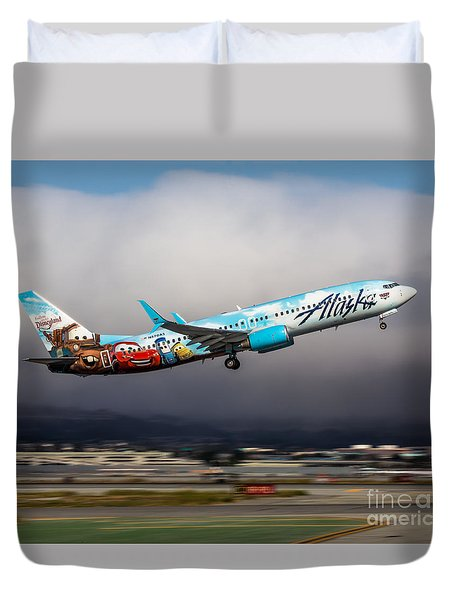 Backseat Drivers Duvet Cover