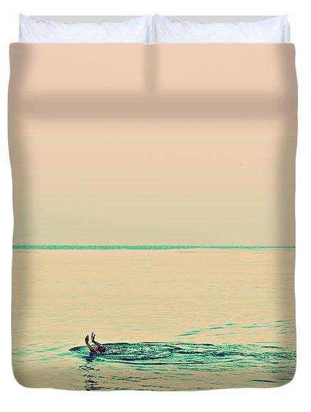 Backstroke Duvet Cover