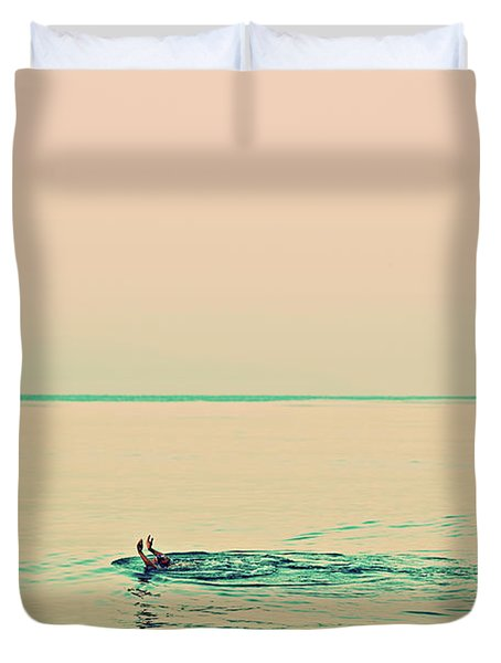 Backstroke Duvet Cover