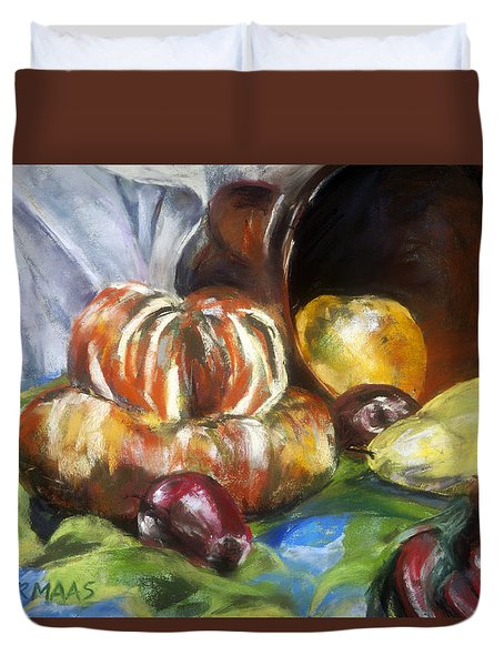 Backyard Bounty Duvet Cover