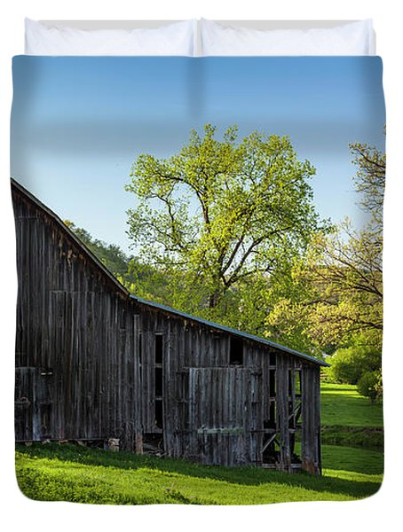Bad Axe Barn Duvet Cover