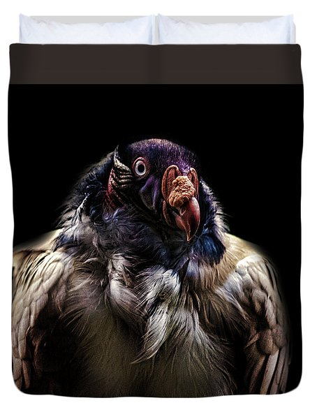 Bad Birdy Duvet Cover