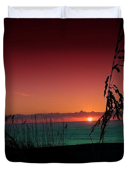 Bad East Coast Sunrise  Duvet Cover