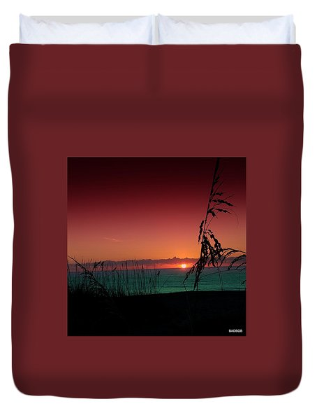 Bad East Coast Sunrise  Duvet Cover