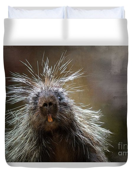 Bad Hairday Duvet Cover