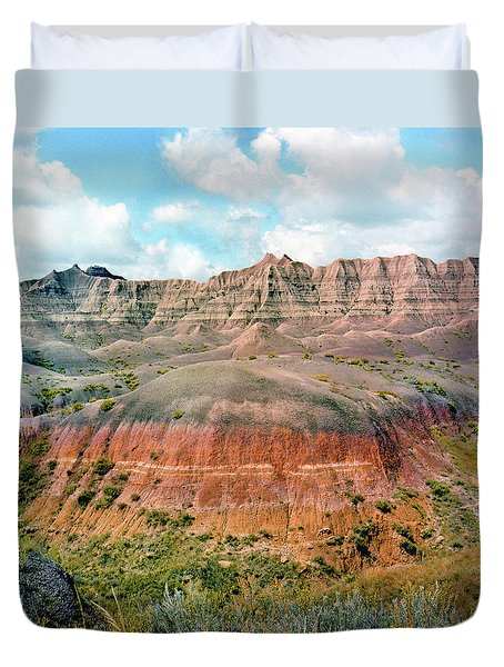 Bad Lands Duvet Cover