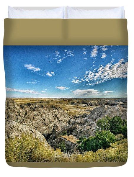 Bad Lands South Dakota.... Duvet Cover