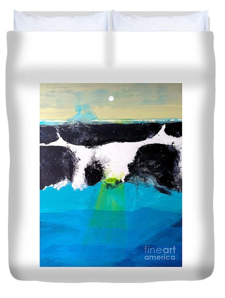 Bad Moon Rising Duvet Cover