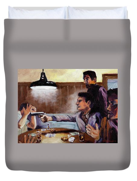 Bad Table Manners Duvet Cover