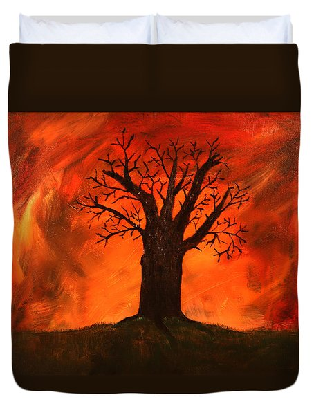 Bad Tree Duvet Cover