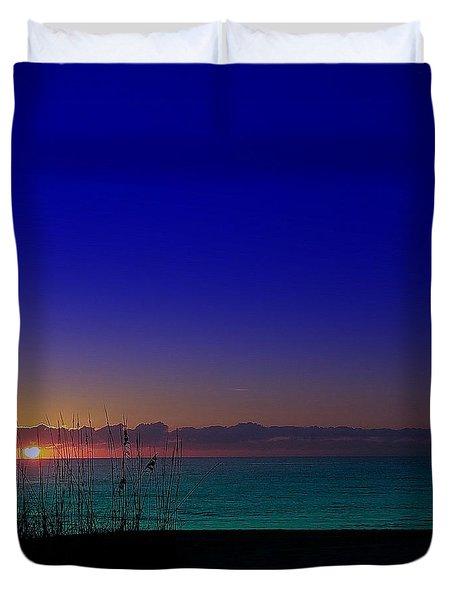 Badblue Sunrise  Duvet Cover