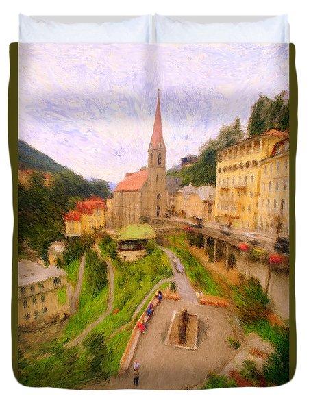 Badhofgastein Duvet Cover