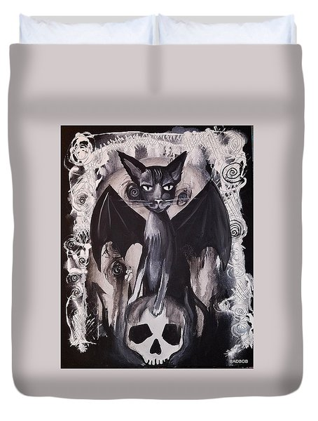 Badkitty Duvet Cover